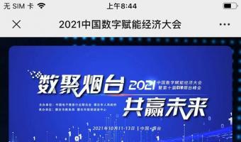 2021中国数字赋能经济大会-app开发公司